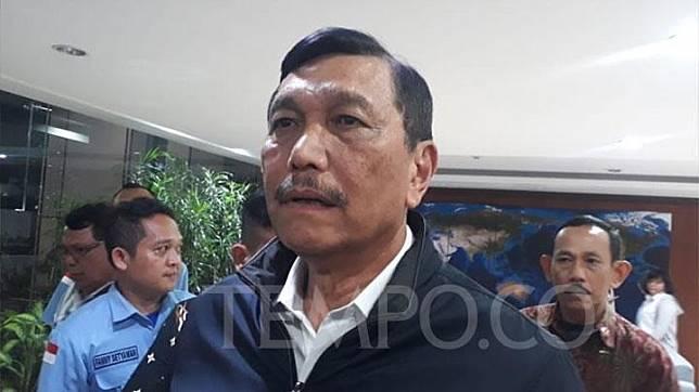 Coordinating Minister for Maritime Affairs Luhut Binsar Pandjaitan. TEMPO/Francisca Christy Rosana
