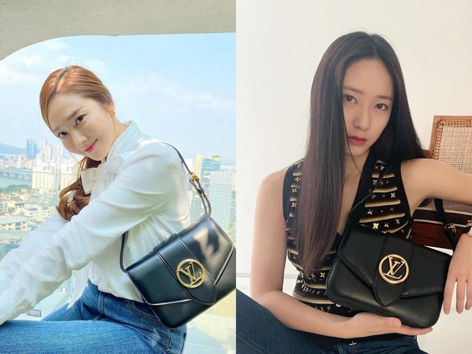 Jessica、Krystal私服:Louis Vuitton Pont 9