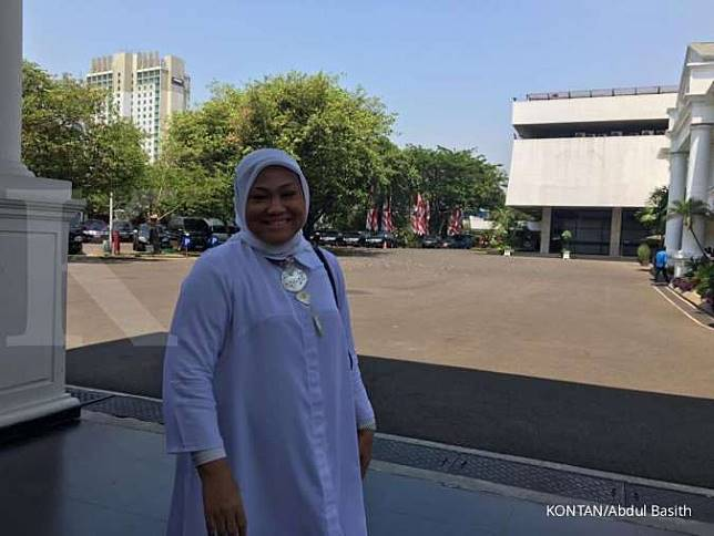 Jadi calon menteri, Ida Fauziyah bahas kartu pra kerja dengan Jokowi