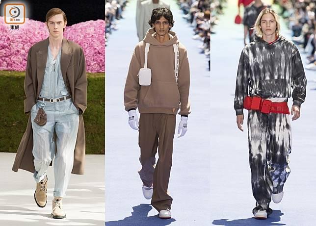 Chest Bag、Sacoche Bag、Utility Bag、Sling Bag等袋款Size細細,實用得來唔會累贅,啱晒鍾意輕裝出門的男士們。(互聯網)