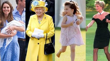 英國女王的彩色套裝、夏綠蒂公主的碎花裙!英國皇室13套經典造型回顧!你認得幾套呢?