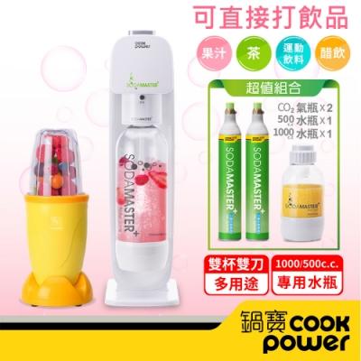 創新設計,可直接打果汁、梅酒 好環保,免插電、免電池 食品級材質,SGS檢驗合格 專用水瓶,減少一次性塑膠瓶使用