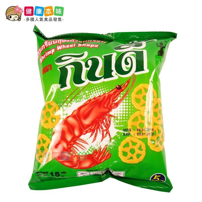 泰國Manora 瑪努拉鮮蝦車輪餅15g [TH042071] 健康本味