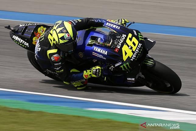 Rossi gagal finis di GP Jepang, ini komentar sang pebalap
