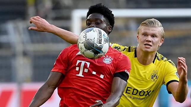Gol Joshua Kimmich Bawa Bayern Munchen Bungkam Dortmund