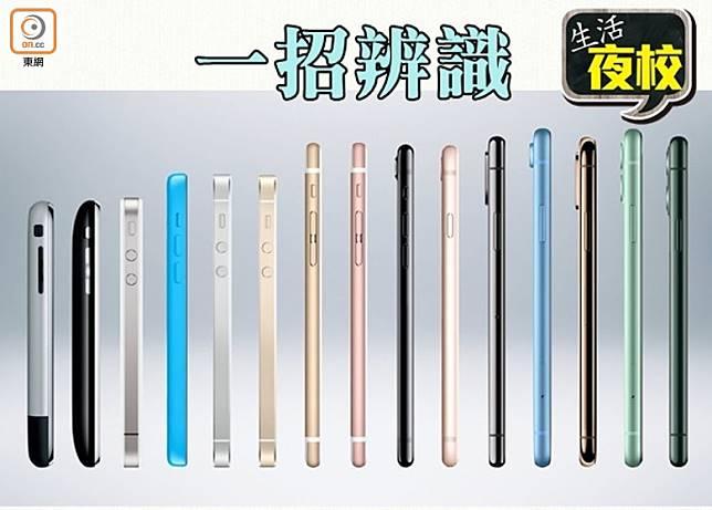 iPhone 除了有不同的型號外,還有很多不同的版本。(互聯網)