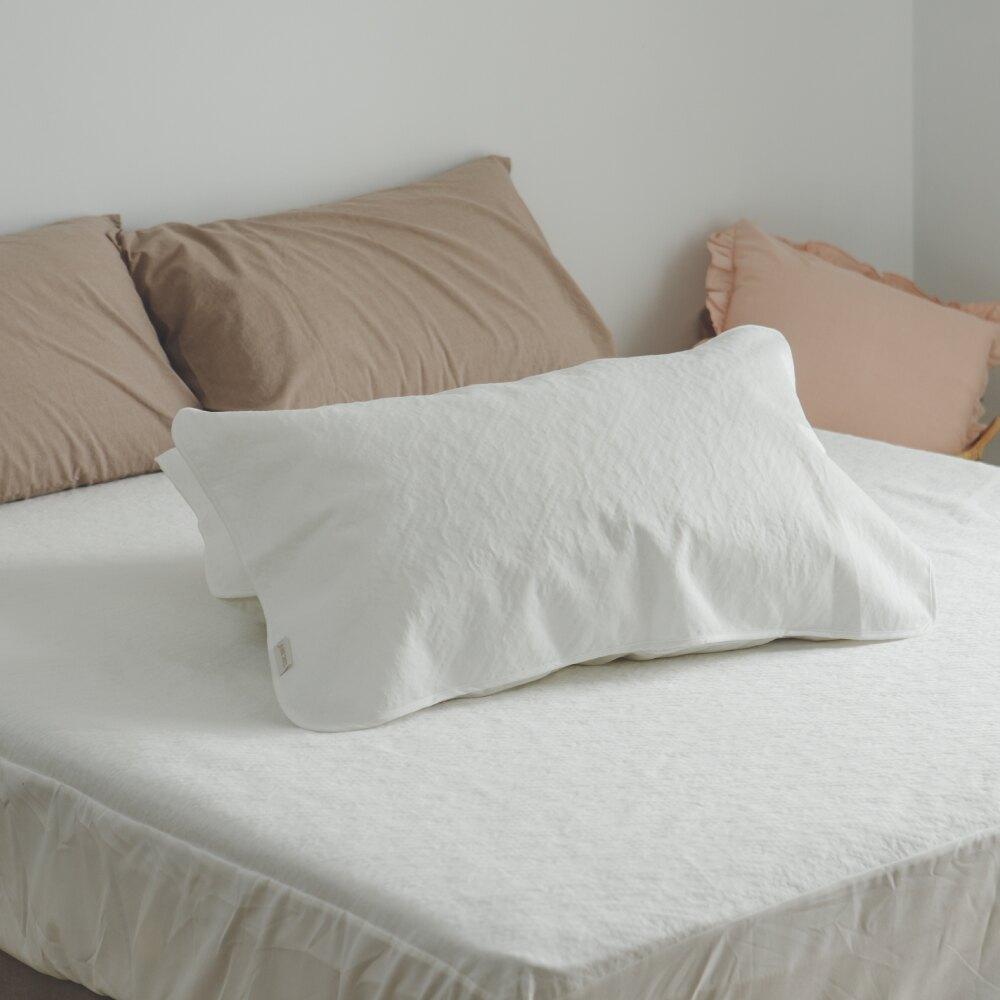 床墊的守護者,輕鬆套上再也不怕弄髒床墊 ‧100%抗菌防水,南亞抗菌A級內棉,專櫃頂級車工,台灣精品