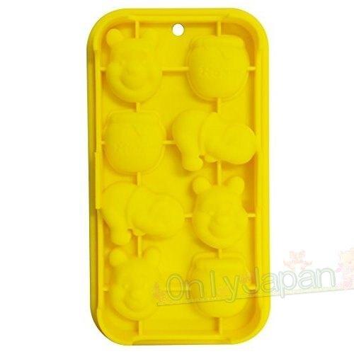 【真愛日本】4973307305443 矽膠造型模具-維尼蜂蜜 小熊維尼 pooh 迪士尼 製冰皿 製冰盒 結冰器 冰塊盒 結冰盤 冰塊 冰塊模 環保冰塊