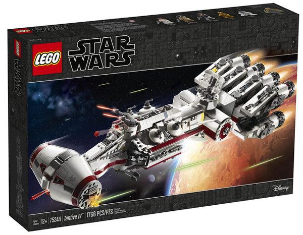 樂高積木 LEGO 2019《 LT75244 》Tantive IV ╭★ JOYBUS玩具百貨