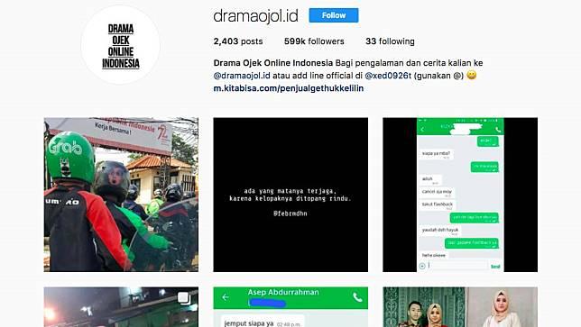 Contoh akun Instagram yang banyak memberdayakan UGC