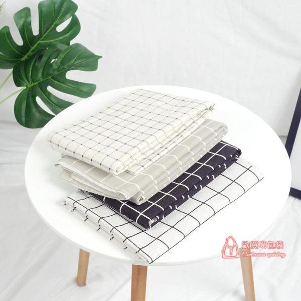 黑白格子布美食拍照背景布兒童靜物攝影道具早餐野餐桌布