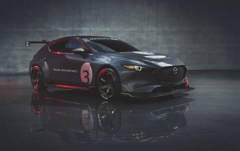 Berkenalan dengan Mazda3 TCR, Mobil Balap yang Bakal Diproduksi Massal