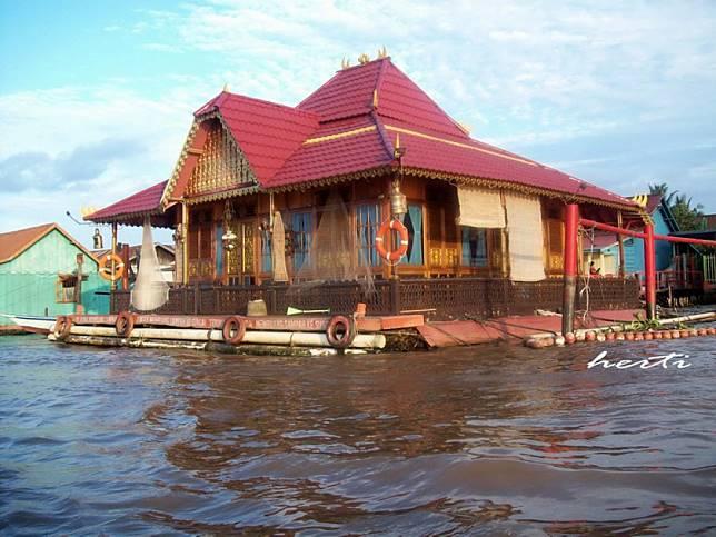 580 Koleksi Gambar Lukisan Rumah Adat Joglo Gratis Terbaik