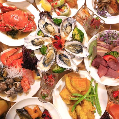 嚴選宜蘭在地頂級海、陸時鮮 百道中、西、日式美食料理 大眾湯、露天泳池、健身房