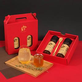【蜂巢蜂業】嚴選台灣在地100%純正百花蜜禮盒組、百花蜜、龍眼蜂蜜醋禮盒