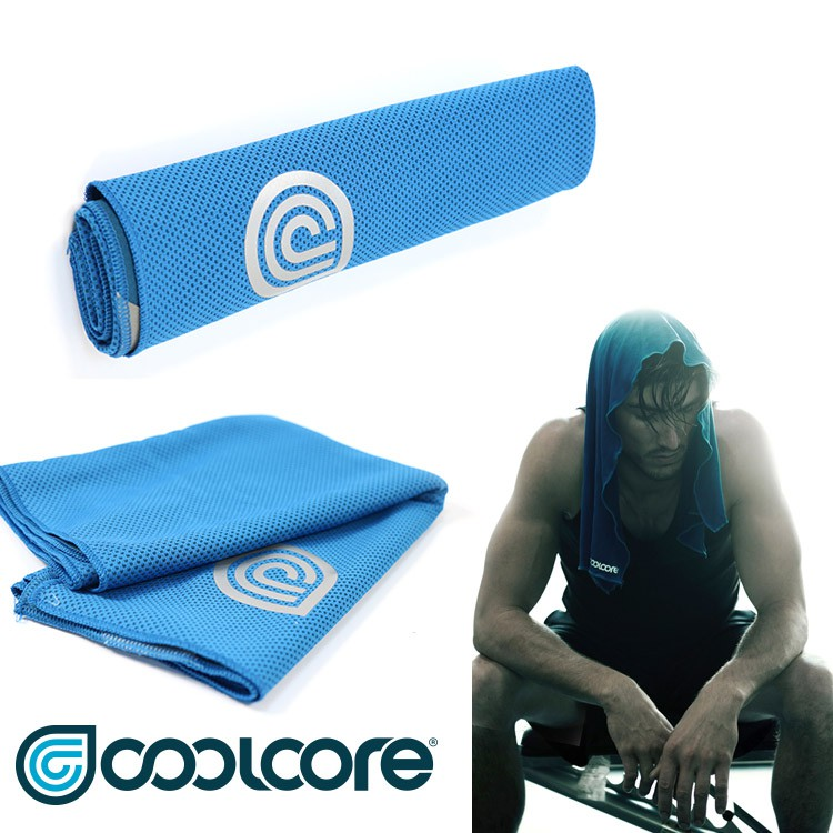 COOLCORE Chill Sport涼感運動巾【藍色】/城市綠洲