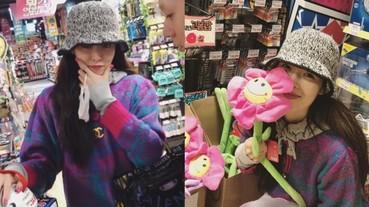 炫雅與男友 E'Dawn 大賣場自拍放閃影片,老夫老妻的親密互動甜到我眼睛長螞蟻啦!