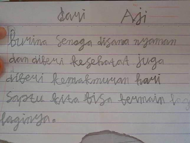4 Surat Perpisahan Anak Sd Untuk Kepindahan Gurunya Bikin Haru