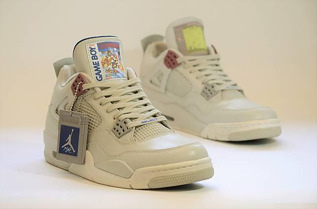 Freaker Sneakers Rilis Sepatu Keren! Gabungan Air Jordan   Game Boy - Super  Mario Land 419627483e