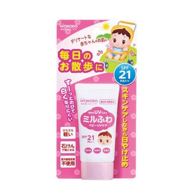 https://www.wakodo.co.jp/product/nyuuyouji/skincare/milufuwauv/