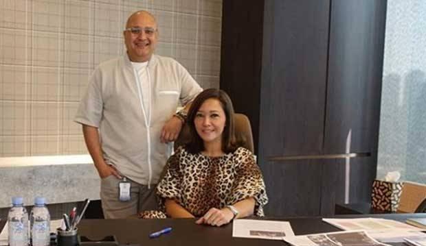 Perdana Kunjungi Suami di Kantor, Maia Estianty Bikin Warganet Baper