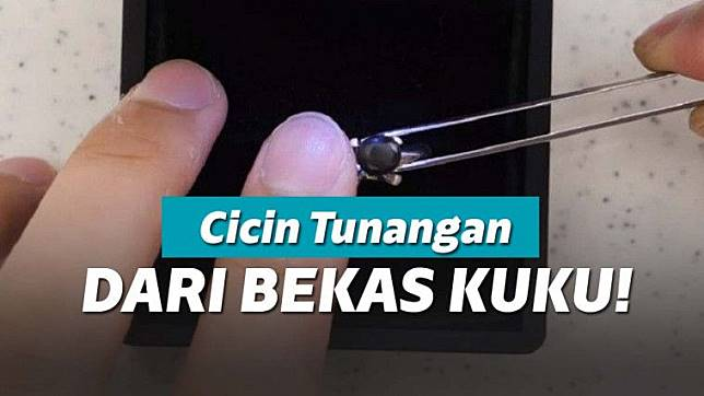 Viral Cowok Bikin Cincin Tunangan dari Potongan Kuku