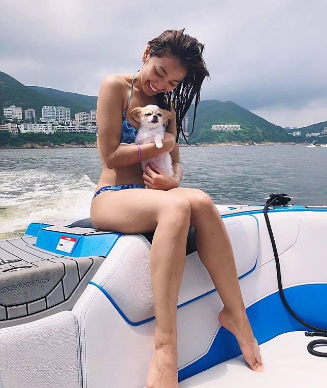 會唔會好想做姜麗文嘅愛犬呢?