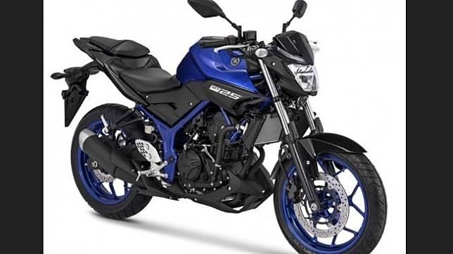 Penyegaran warna Yamaha MT-25 biru metalik [Sumber: Yamaha Indonesia].