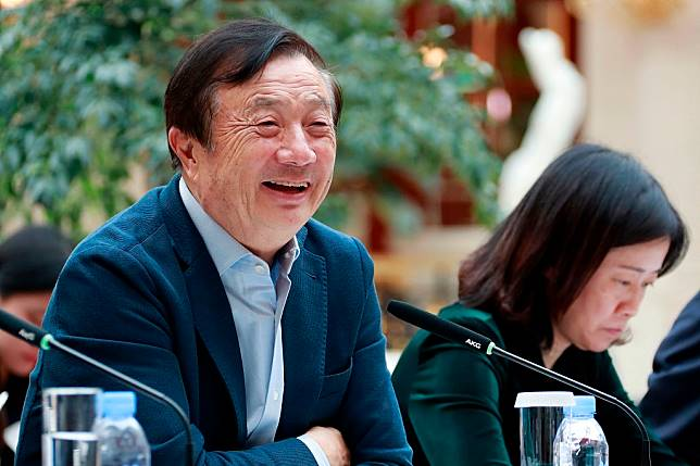 CEO dan pendiri Huawei, Ren Zhengfei. (Photo by HANDOUT HUAWEI / AFP)