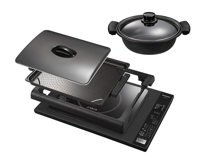 日本公司貨 國際牌 Panasonic KZ-HP2100 桌上型IH調理爐 電磁爐 過熱保護 定時器 LED顯示 火力顯示 煎 煮 炸 日本必買代購