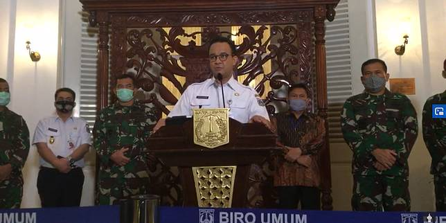 Anies Jakarta Bisa Memulai New Normal Jika Warga Disiplin Dalam 2