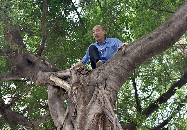 韓國瑜跑去種樹!嘆對這2字特別有感觸...