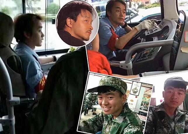 揸大巴這位司機與張國榮撞樣撞到嘭嘭聲…而下圖就請大家猜猜哪個才是正版王寶強?