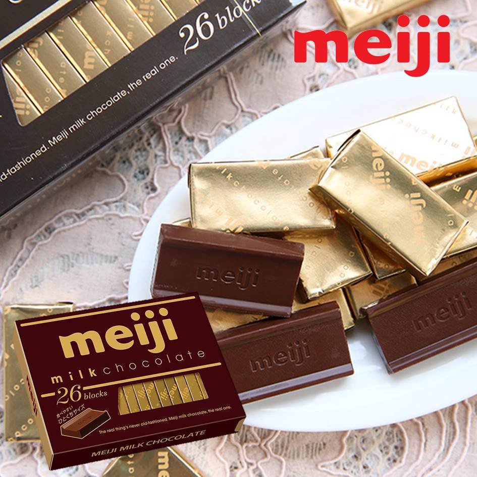 日本原裝進口 明治生產的經典長銷商品 香甜滑順的口感 一口一片 輕鬆享有巧克力的芳醇美味本批出貨賞味期限:2021/07/31保存期限 : 12個月產品容量:120g (26枚)原產地 : 日本 靜岡