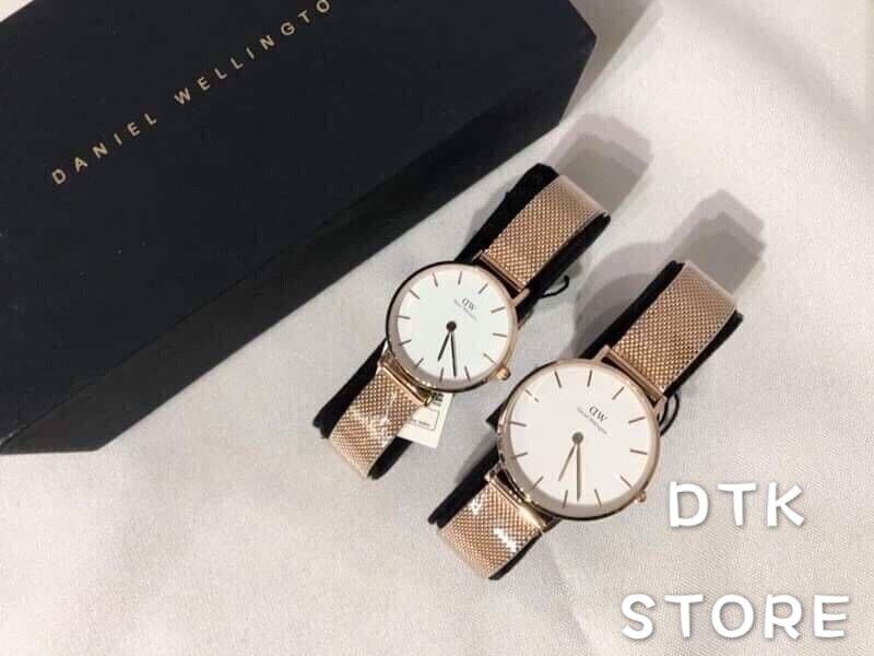 免運-DTK-實體店面一年保固【Daniel Wellington】DW 精品手錶 米蘭系列 黑面 白面 金米蘭 28/32mm 情侶對錶 錶 男錶 女錶 石英錶 皮錶帶