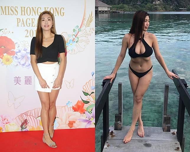 Vivian Yuen在ig的泳照甫士誘人。