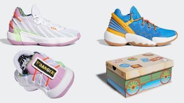 官方新聞 / 巴斯光年、胡迪警長化身籃球鞋 adidas x Pixar 聯名系列臺灣 10 月 1 日上演