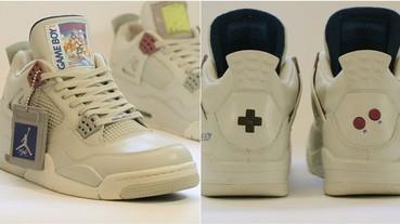 童年回憶噴發!AJ4「Game Boy」版本釋出 鞋後跟竟然還有「A、B 按鈕」!