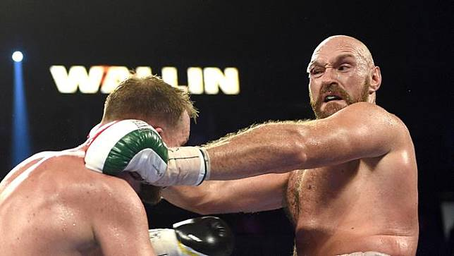 Tyson Fury memang berhasil memenangkan pertarungan melawan Otto Wallin di Las Vegas, Nevada, Amerika Serikat, Sabtu (14/9/2019).