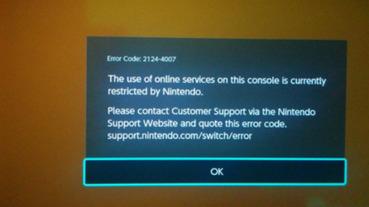 想玩Switch破解可能要再想想,已有玩家表示任天堂針對Switch駭客帳號直接終身封禁