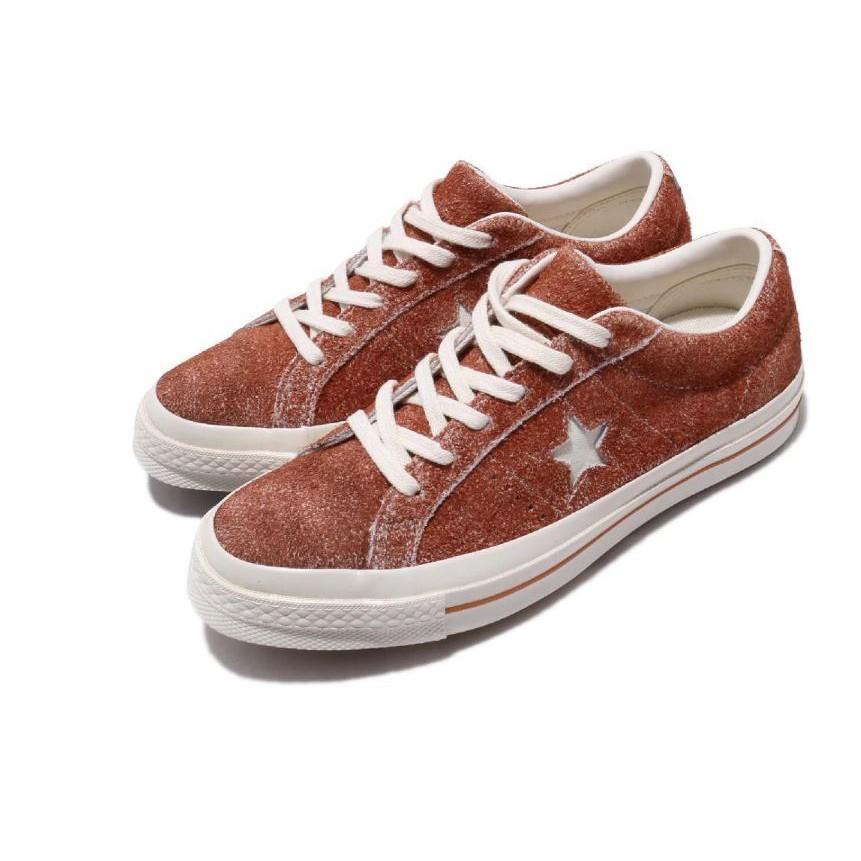 CONVERSE-One Star Cali Suede 男女款休閒低筒情侶鞋-NO.164220c