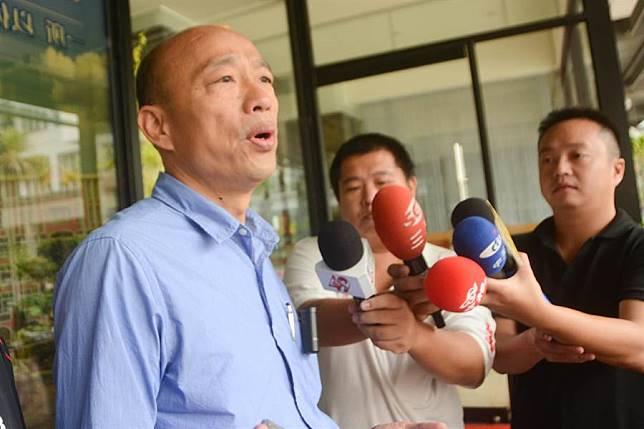 韓國瑜預告「每日一黑」升級,霸氣稱「選後民進黨臉發黑」