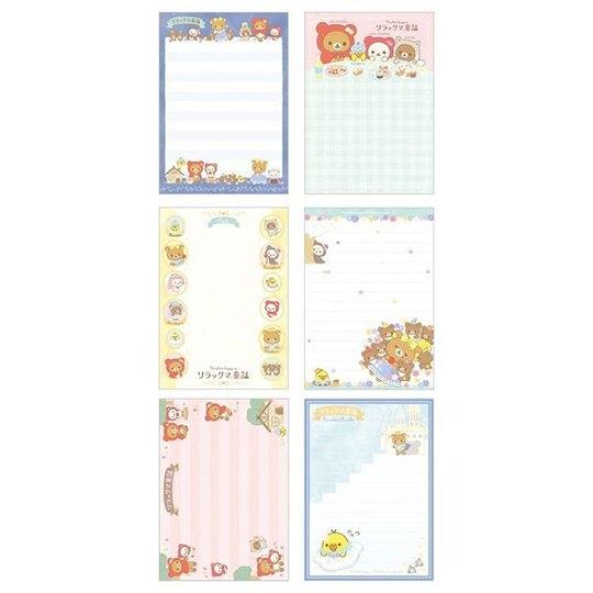 六種圖案,共120張 書本式左翻設計 張張有可愛圖案 信紙、留言、備忘多功能