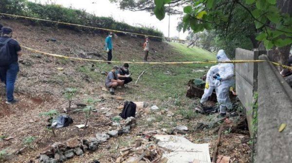 Lokasi penemuan jenazah Editor Metro TV Yodi Prabowo di Ulujami, Jakarta Selatan, Jumat, 10 Juli 2020.