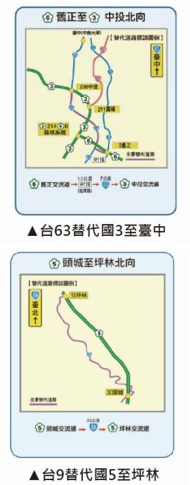 【春節攻略】2019 春節連假國道高乘載、路肩與收費圖表全攻略
