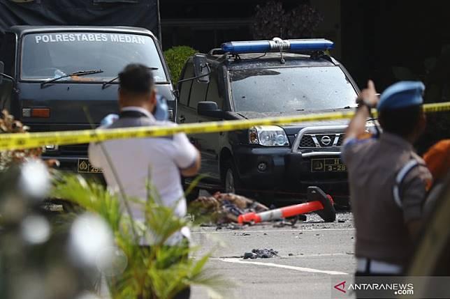 Grab berkoordinasi dengan pihak berwajib soal pelaku Bom Medan