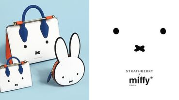 米菲迷尖叫!梅根愛牌Strathberry和Miffy米菲兔推出超萌聯名限量系列,超Q童趣感隨身帶著走~