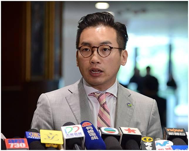 5名立法會議員包括楊岳橋(圖)、郭家麒、郭榮鏗、陳淑莊及譚文豪。資料圖片
