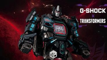 G-Shock x《Transformers》推出別注模型錶款!