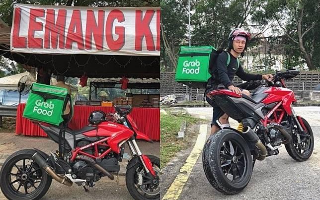 Ojol Ini Viral Karena Gunakan Motor 187 Juta Untuk Antar Pesanan Makanan, Ngaku Hanya Kerja Sampingan